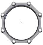 Dgp3 Sigma 3 Mj Pack Ductile Iron Mechanical Accessory CAT683A,DGP3,68304550,