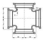 Ssb 8 C153 Di Mj X Mj X Mj X Mj Cross Mechanical Joint L/acc