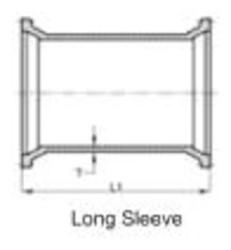 Ssb 6 C153 Di Mj Sleeve Mechanical Joint L/acc CAT683,IMJLSP,DML6,CMJLS06,68301160,137399,670610137399,MJLSP,5-644L,TYL137399,DLSP,MFGR VENDOR: SIGMA,PRCH VENDOR: SIGMA,MFGR VENDOR: SIP,PRCH VENDOR: SIP,