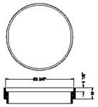 Mh1922 Sigma 23 1/2 Manhole Riser