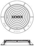 Mh255 Sigma 24 Sewer Ring & Cover Vm17 CAT686I,VM17,MH25024,