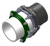 Pvm-s2 Sigma Pv-lok 2 Pvc/ductile Iron Restraint CAT617,PVM-S2,