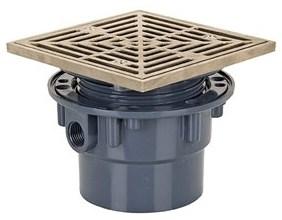 842-2pnq 2 Pvc Sq Adj Floor Drain CAT451S,SC365 842-2PNQ,739236301024
