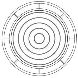 Mhe2403 23-1/2 X 3 Round Sewer Adj Ring CAT663,RING,MHE2403,CGTR243,