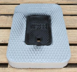 Ch Southern Meter 5/8 In X 3/4 In Concrete Lid Only W/ Ci Reader CAT676,01490655,CMBLCIR,