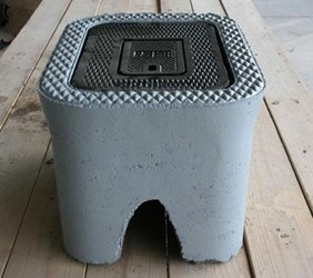 Southern Meter 5/8 X 3/4 Concrete Meter Box Only CAT676,01490507,CMBBOF,CMBB0F,