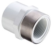 1-1/4 Pvc Sch 40 Female Adapter S X Fipt Ss Reinforced Threads CAT462,435-012SR,054211131220,43523620,46290110,PRFAH,