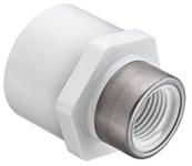 1 X 3/4 Pvc Sch 40 Female Adapter Socket X Fipt Ss Reinforced Threads CAT462,054211131343,435131R,46209528,46209528,SPE435131R,