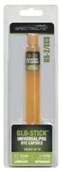Gs-2/ecs Spectronics Glo-stick 0.52 Oz Amber Dye CAT380SP,GLO,GLOW,GLOSTICK,GS2ECS,