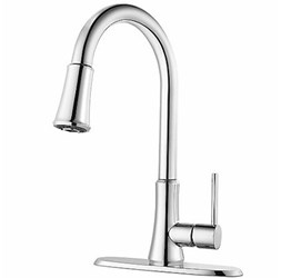 G529-pf1c Price Pfister Pfirst Series Ada Pc Lf 8 Centerset 1 Or 3 Hole 1 Handle Kitchen Faucet 3 Function Pull Down Spray CAT162,38877616840