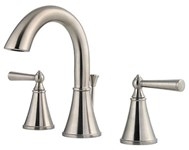 Lg49-gl0k Price Pfister Saxton Brushed Nickel Ada Lf 8 To 15 Widespread 3 Hole 2 Handle Bathroom Sink Faucet 1.2 Gpm