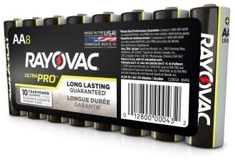 Alaaa Rayovac Aaa Alkaline Contractor Pack Battery CAT390F,79404,