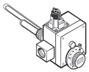 9003739005 Gas Control Valve For 75 Gal Xrrs CATSTP,020363126797,3739,9003739,9003739005