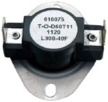L300 Thermodisc Spst 300 Degree F Open/260 Degree F Close/40 Degree F Differential Limit Thermostat CAT382,L300,GPL300,L30050,39031,L300,38436956,687152020751