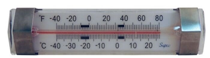 St06 -40 To 80 Degree F Fahrenheit And Celsius Scale/horizontal Design/unbreakable Lens Thermometer CAT382,ST06,ST06,ST06,ST06,38223827,687152032563
