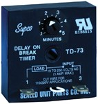 Td73 Supco 1 Amps 19 To 250 Volts Timer CAT382,TD73,TD73,TD73,687152034390