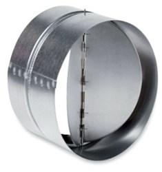 Rsk 4 Fantech 4 G90 Steel 24 Gauge Vertical Inline Damper CAT305,RSK4,RSK 4,650737690403