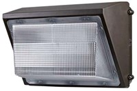 Dc150e45w5300lmv50kc Fleco Bronze Powder Coated 45 Watts Wall Pack CATTFL,45W,LED,WP45W,