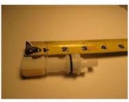 11608 Delta Faucet 3-1/8 New Style Diverter Stem CATFAU,11608,671231116084,