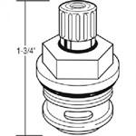 15316 Nibco 1-3/4 Washerless Stem Unit CATFAU,15316,