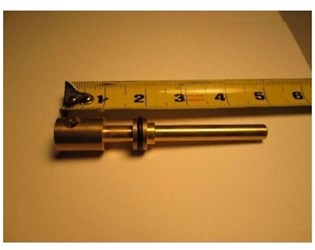 15709 Union Brass 4-11/16 Diverter Stem CATFAU,15709,671231157094,