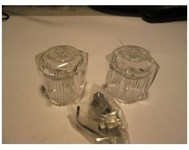 20012 Small Clear Acrylic Fit-all Handle CATFAU,20012,