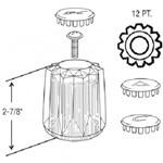 23026 Price Pfister Windsor Tub & Shower Handles CATFAU,23026,671231230261,