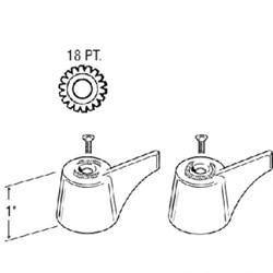 24202 Union Small Sink & Lav Handle CATFAU,24202,671231242028,