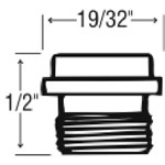 30012 Eljer 1/2-27t Bibb Seat CATFAU,30012,EBS,EFS,671231300124,