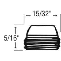 30065 Harcraft 9/16-20t Bibb Seat CATFAU,30065,