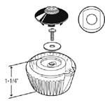 43004 Moen Acrylic Old Style Lavatory Handle CATFAU,43004,671231430043,