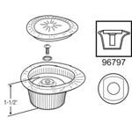43024 Moen Tear Drop Style Tub & Shower Handle CATFAU,43024,671231430241,