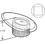 49003 Valley Single Lever Acrylic Handle CATFAU,49003,671231490030,