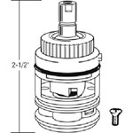 49015  Valley 2-7/16 New Style Cartridge With Spray CATFAU,49015,