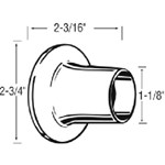 51501 Price Pfister Tub & Shower Escutcheon CATFAU,51501,671231515016,