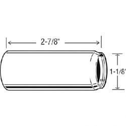 52500 Sayco 1-1/8 Tub & Shower Escutcheon Nipple CATFAU,52500,671231525008,