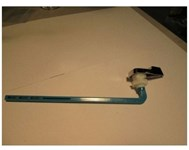 91111 Mansfield Blue Tank Lever CATFAU,91111,671231911115,