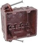 1032 D-w-o Union 2 Gang Switch Box CATD751U,C1032,1032,2GB,78635856032