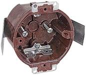 3080-9 Carlon 3.5 X 2.125 Brown Ceiling Box CAT751U,C30809,30809,3.5RD,3RD,3RDB,ROUND,78635850270