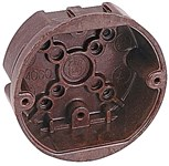 4060-n02 Carlon 4 X 1.625 Brown Ceiling Box CAT751U,C4060NO2,4060NO2,4RB,4060N02,4060-N02,78635850450