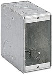 1-mb Steel City 22 Cu In 1 Gang Silver Electrical Box CAT724,BOW1MB,B1MB,1MB,1-MB,10781720704931,078172000493