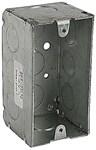 104-w-1/2 T&b 15.6 Cu In 1 Gang Silver Electrical Box CAT751U,104-W-1/2,781720041794,HUB670RAC,670RAC,78172004179