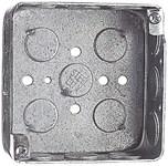 52151 1/2 T&b 21 Cu In Silver Square Electrical Box CAT751U,52151 1/2,785991164251,HUB190,4SQD,190,4SQB,78599116425