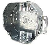 54151 Ne Steel City 4 X 1.5 Silver Ceiling Box CAT751U,54151 NE,785991100297,HUB150,54151NE,OCT,150,4OB,78599110029