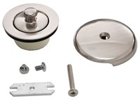 Trim To The Trade 1-5/8 Satin Bronze Bath Drain Conversion Kit CAT176,4T1905C35,