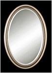 08646b D-w-o Uttermost Petite Manhattan Champagne Silver Oval Accent Mirror CATOUTT,08646B,792977186466