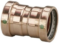 20733 Viega 3 Copper Propress Xl-c Coupling With Stop Press X Press CAT539P,20733,20733,0095691207333,PPCM,30691514207330,green,VIEGA GRREN,LEAD FREE,RID20733,691514207339