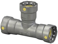 25326 Viega 2 Carbon Steel Megapressg Gas Tee Press X Press X Press CAT539MP,25326,691514253268,MPGTK