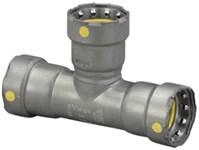 25341 Viega 1 X 1 X 3/4 Carbon Steel Megapressg Gas Reducer Tee Press X Press X Press CAT539MP,25341,MPGTGF,MPGTGGF,691514253411