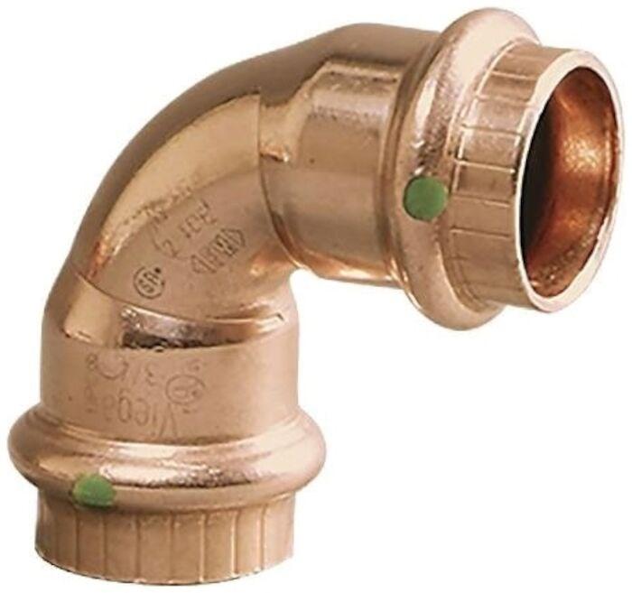 Viega Llc Viega 1 In Copper Propress 90 Elbow Press X Press